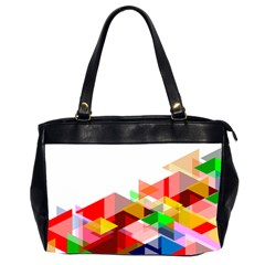 Graphics Cover Gradient Elements Office Handbags (2 Sides)