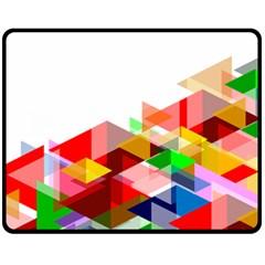 Graphics Cover Gradient Elements Fleece Blanket (medium)