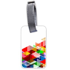Graphics Cover Gradient Elements Luggage Tags (two Sides)