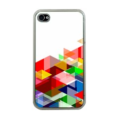 Graphics Cover Gradient Elements Apple Iphone 4 Case (clear)