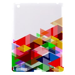 Graphics Cover Gradient Elements Apple Ipad 3/4 Hardshell Case (compatible With Smart Cover)
