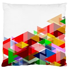 Graphics Cover Gradient Elements Large Cushion Case (two Sides)