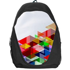 Graphics Cover Gradient Elements Backpack Bag