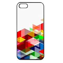Graphics Cover Gradient Elements Apple Iphone 5 Seamless Case (black)