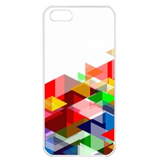 Graphics Cover Gradient Elements Apple Iphone 5 Seamless Case (white)