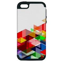Graphics Cover Gradient Elements Apple Iphone 5 Hardshell Case (pc+silicone)