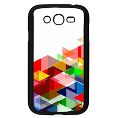 Graphics Cover Gradient Elements Samsung Galaxy Grand Duos I9082 Case (black)