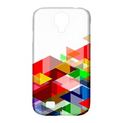 Graphics Cover Gradient Elements Samsung Galaxy S4 Classic Hardshell Case (pc+silicone)