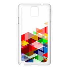 Graphics Cover Gradient Elements Samsung Galaxy Note 3 N9005 Case (white)