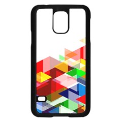 Graphics Cover Gradient Elements Samsung Galaxy S5 Case (black)