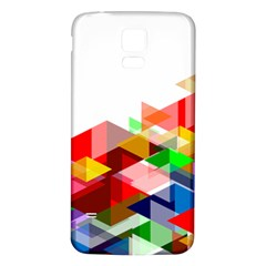 Graphics Cover Gradient Elements Samsung Galaxy S5 Back Case (white)