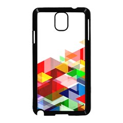 Graphics Cover Gradient Elements Samsung Galaxy Note 3 Neo Hardshell Case (black)