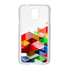 Graphics Cover Gradient Elements Samsung Galaxy S5 Case (white)