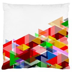Graphics Cover Gradient Elements Large Flano Cushion Case (one Side)