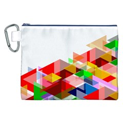 Graphics Cover Gradient Elements Canvas Cosmetic Bag (xxl)