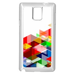 Graphics Cover Gradient Elements Samsung Galaxy Note 4 Case (white)