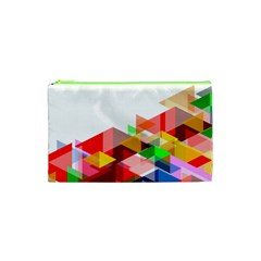 Graphics Cover Gradient Elements Cosmetic Bag (xs)