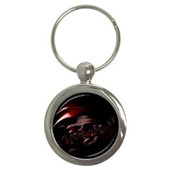 Fractal Mathematic Sabstract Key Chains (round)