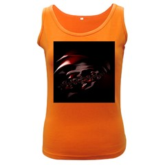 Fractal Mathematic Sabstract Women s Dark Tank Top