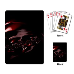 Fractal Mathematic Sabstract Playing Card