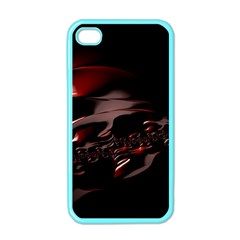Fractal Mathematic Sabstract Apple Iphone 4 Case (color)