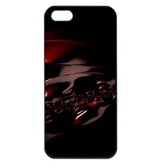 Fractal Mathematic Sabstract Apple Iphone 5 Seamless Case (black)