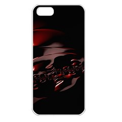 Fractal Mathematic Sabstract Apple Iphone 5 Seamless Case (white)