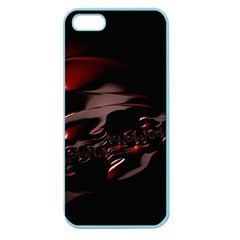Fractal Mathematic Sabstract Apple Seamless Iphone 5 Case (color)
