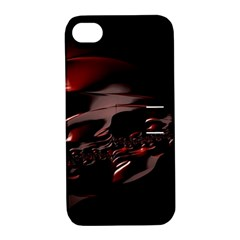 Fractal Mathematic Sabstract Apple Iphone 4/4s Hardshell Case With Stand