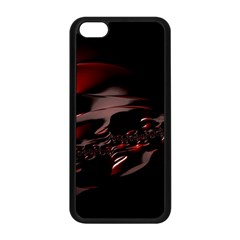 Fractal Mathematic Sabstract Apple Iphone 5c Seamless Case (black)