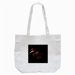 Fractal Mathematic Sabstract Tote Bag (white)