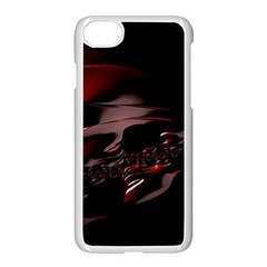 Fractal Mathematic Sabstract Apple Iphone 7 Seamless Case (white)