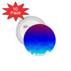 Gradient Red Blue Landfill 1.75  Buttons (10 pack)