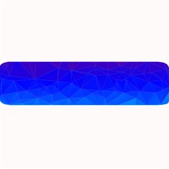 Gradient Red Blue Landfill Large Bar Mats