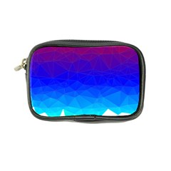 Gradient Red Blue Landfill Coin Purse