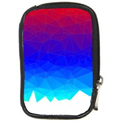 Gradient Red Blue Landfill Compact Camera Cases