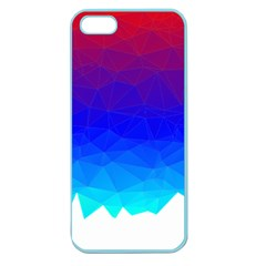 Gradient Red Blue Landfill Apple Seamless iPhone 5 Case (Color)