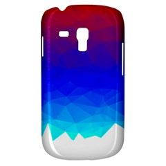 Gradient Red Blue Landfill Galaxy S3 Mini