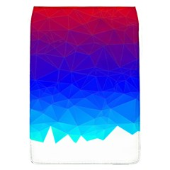 Gradient Red Blue Landfill Flap Covers (l)