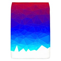 Gradient Red Blue Landfill Flap Covers (S)