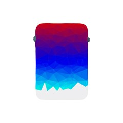 Gradient Red Blue Landfill Apple Ipad Mini Protective Soft Cases
