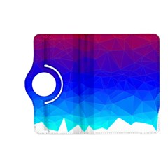 Gradient Red Blue Landfill Kindle Fire Hd (2013) Flip 360 Case