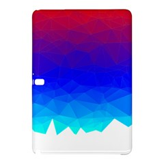 Gradient Red Blue Landfill Samsung Galaxy Tab Pro 10 1 Hardshell Case