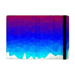 Gradient Red Blue Landfill Ipad Mini 2 Flip Cases