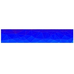 Gradient Red Blue Landfill Flano Scarf (large)