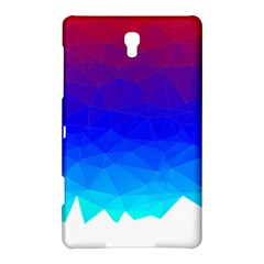 Gradient Red Blue Landfill Samsung Galaxy Tab S (8.4 ) Hardshell Case