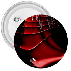 Red Black Fractal Mathematics Abstract 3  Buttons