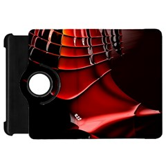 Red Black Fractal Mathematics Abstract Kindle Fire Hd 7