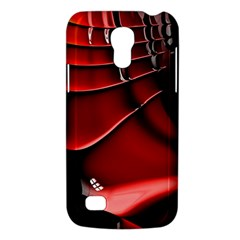 Red Black Fractal Mathematics Abstract Galaxy S4 Mini