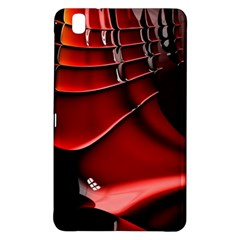Red Black Fractal Mathematics Abstract Samsung Galaxy Tab Pro 8 4 Hardshell Case
